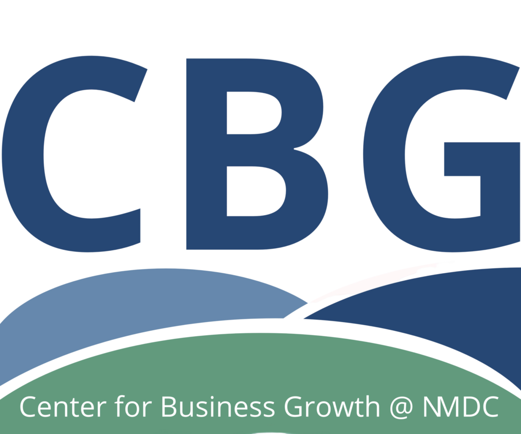 Center for Business Growth @ NMDC Logo